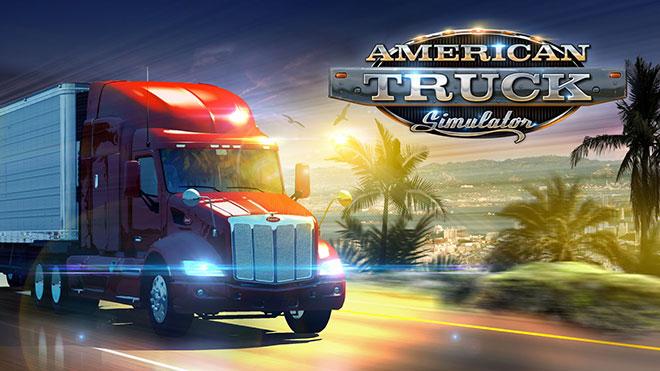American Truck Simulator, игры для руля с педалями на компьютер