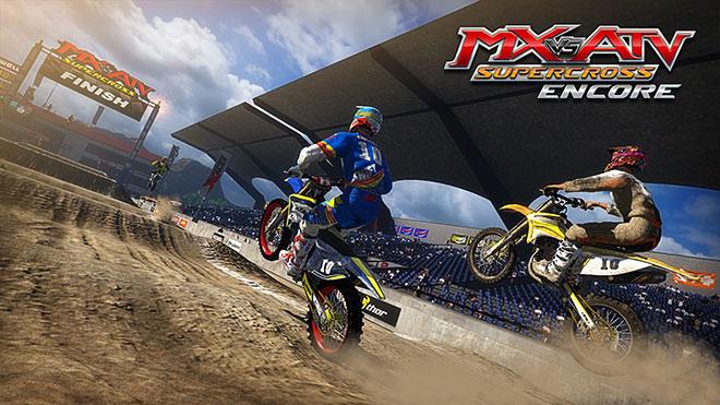 игры для руля с педалями на компьютер, MX-vs-ATV-Supercross-Encore