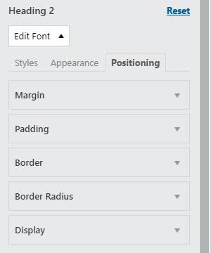 шрифт wordpress