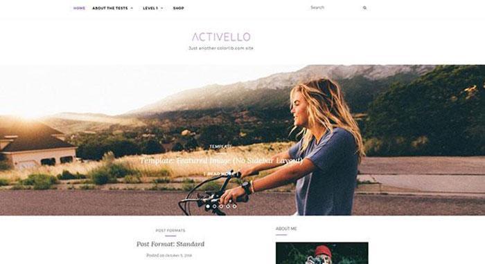 тема wordpress activello