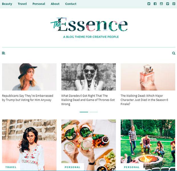 the essense