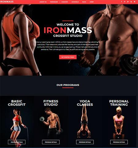 Ironmass-wordpress