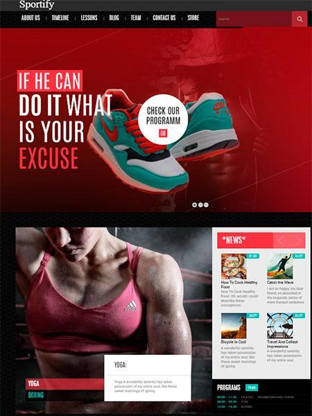 Sportify WordPress
