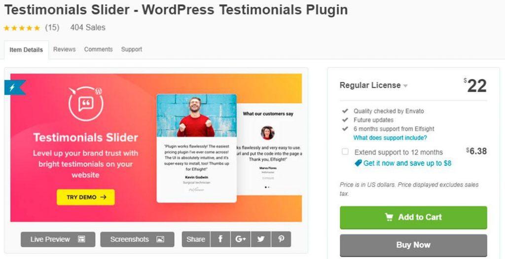 8 лучших плагинов для добавления отзывов на ваш сайт WordPress